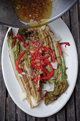 Grilled-romaine