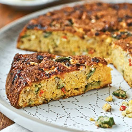 Vegetable Corn Bread