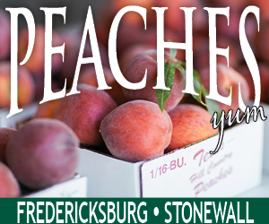 Fredericksburg Peaches 2019 Rectangle