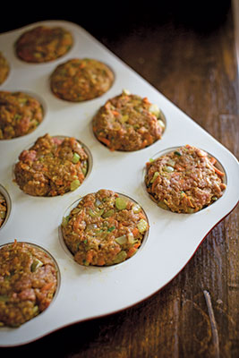 Indianized Meatloaf Muffins