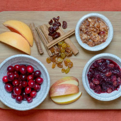 Fermented Cranberry Relish