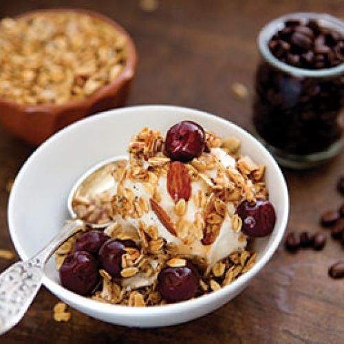 House Blend Granola with Drunk Cherries