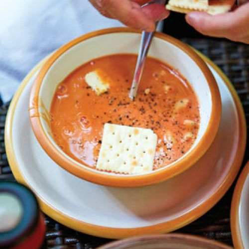 Edible Austin's Version of Comforting Tomato Soup