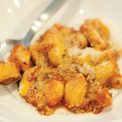 David Bull's Potato Gnocchi with Oven-Roasted Tomatoes and Black Olive  Oil