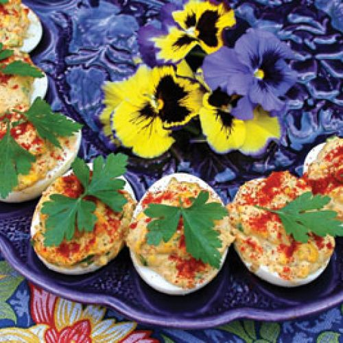 Lucinda's Basic Deviled Eggs