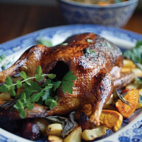 Tangerine Glazed Duck