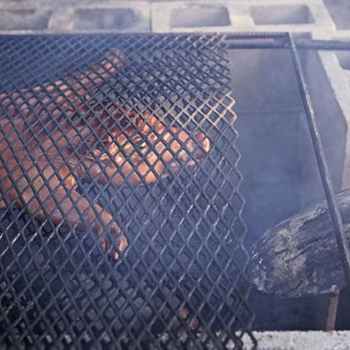 Tink Pinkard's Goin' to Law School Roasted Pig