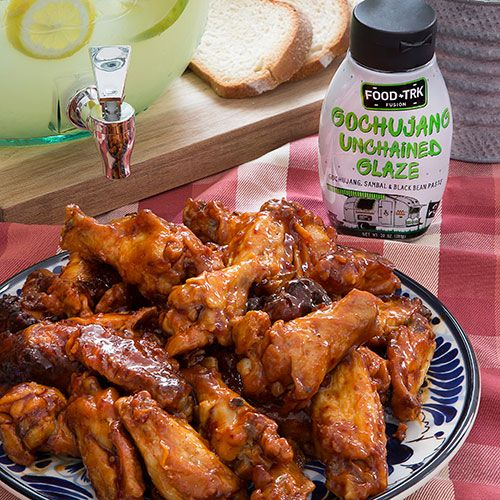 Gochujang Unchained Chicken Wings