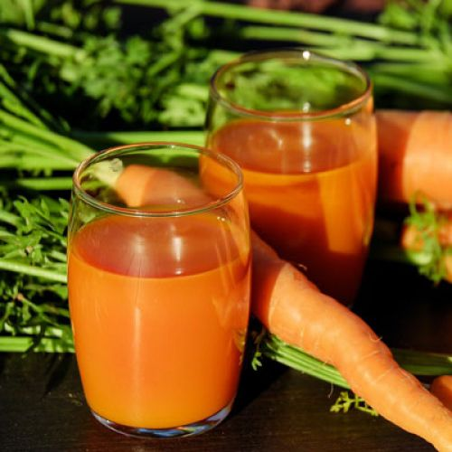 Creamy Carrot Coconut Shooters