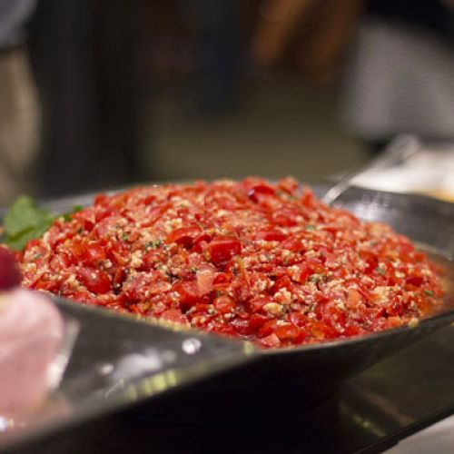 Lucinda's Roasted Red Pepper and Sundried Tomato Salsa