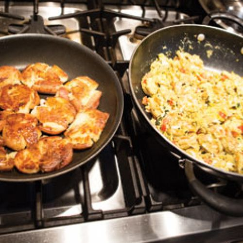 Carol Huntsberger's Why Not? Shrimp Migas
