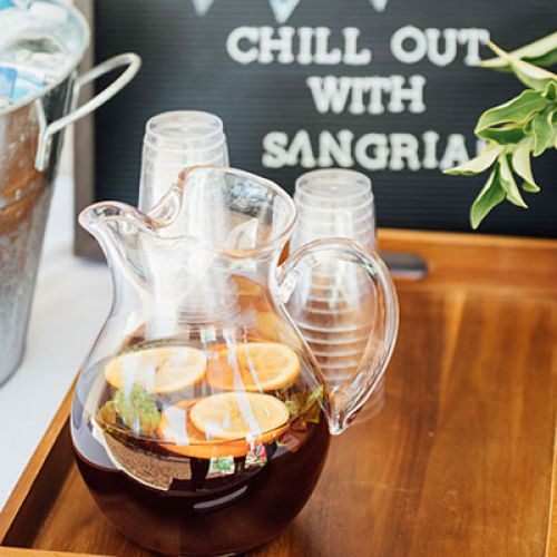 Lavender-Infused Sangria