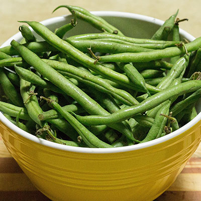 Gingered Haricot Verts