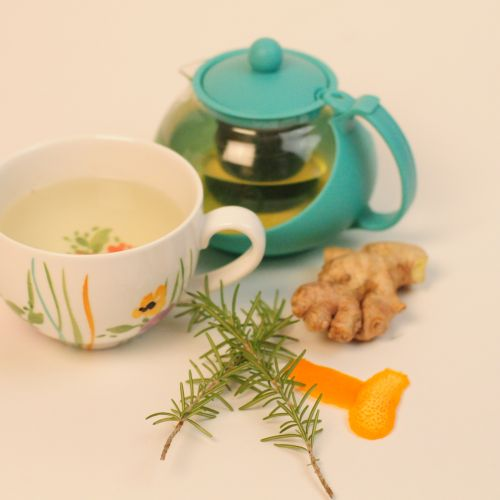 Spicy Rosemary Tea