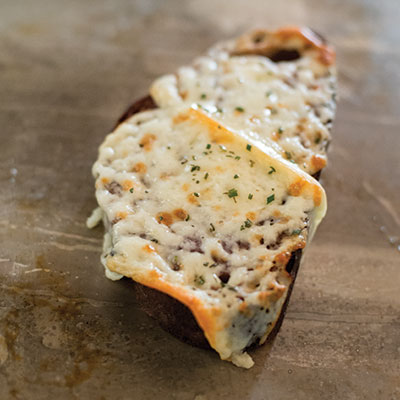 Welsh Rarebit-Inspired Tartine