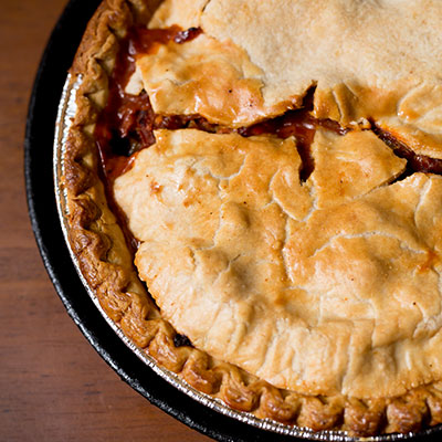 """Kevin Russell's """"Son of a Gun We'll Have Big Fun"""" New Year's Crawfish Pie"""