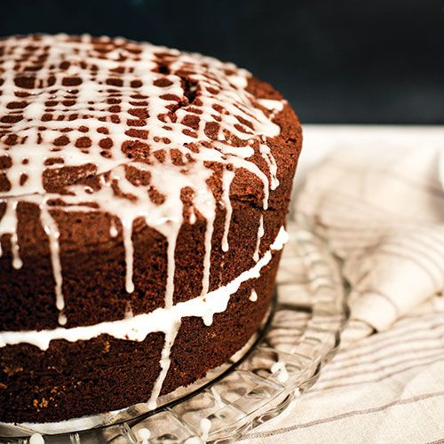 Ginger Cake with Chai Spice and Stout Beer