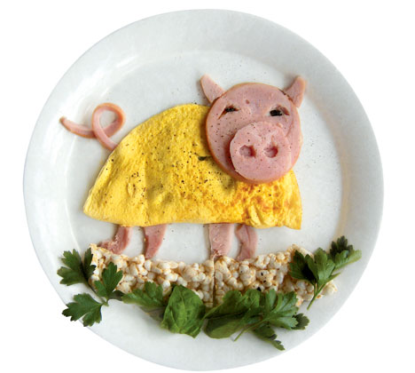 Funny-Food---pig