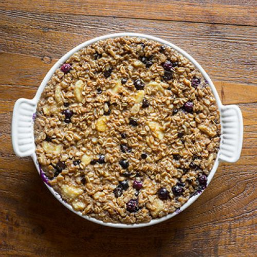 New Mama Oatmeal Bake