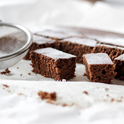 Whole-Wheat Cocoa Brownies