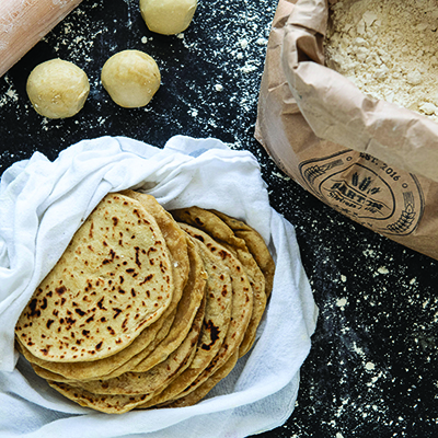 Einkorn Tortillas