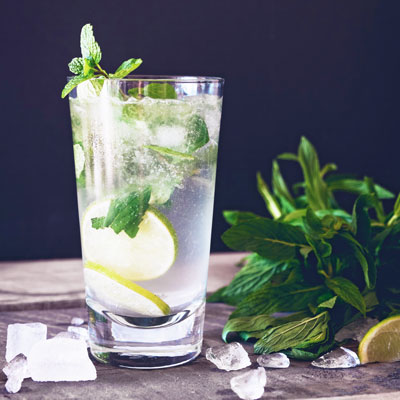 Mojito with Infused Rum